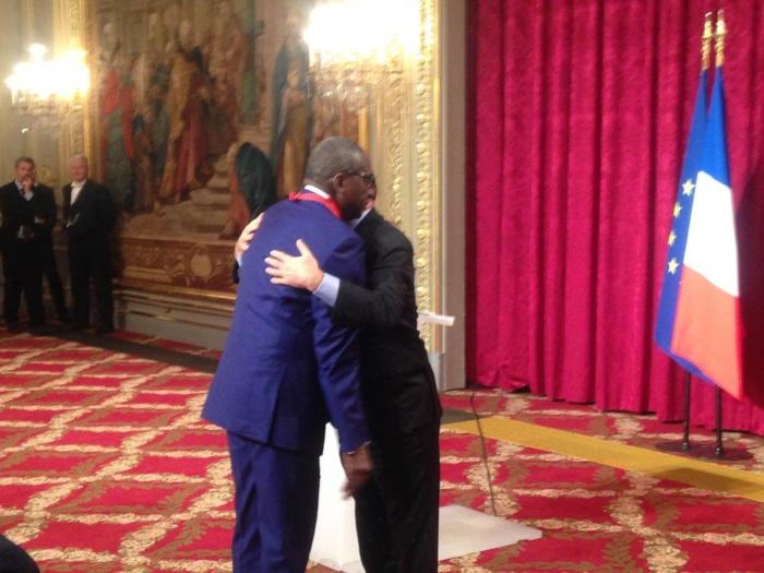 RÉCEPTION À L'ÉLYSÉE : Le ministre sénégalais de la justice Me Sidiki Kaba élevé au grade de Commandeur de la Légion d'Honneur par François Hollande