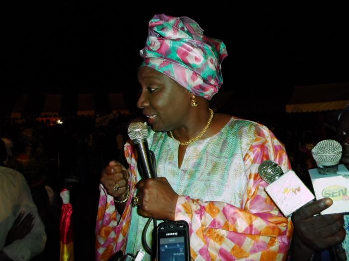 Meeting AASS : Quand le rythme du N'goyane s'empare de Mimi Touré...