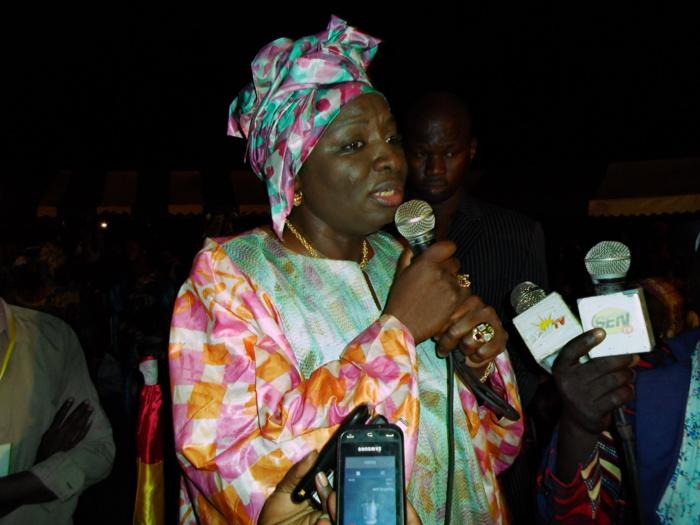 Aminata Touré au meeting de l'AASS : « Seule la paix nous importe, tout le reste sont des crises artificielles... »