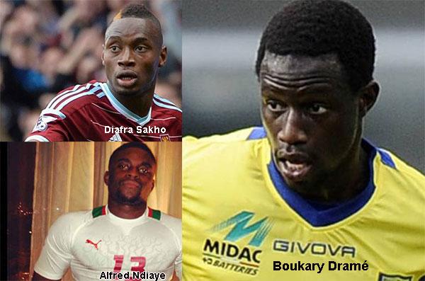 MADAGASCAR-SÉNÉGAL : Diafra Sakho, Alfred N'diaye et Boukhary Dramé forfaits