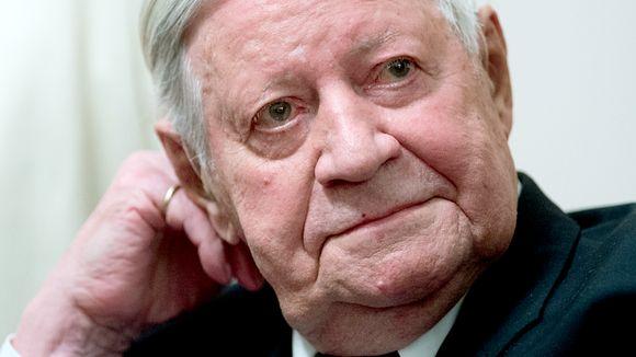 Allemagne : l'ancien chancelier ouest-allemand Helmut Schmidt est mort