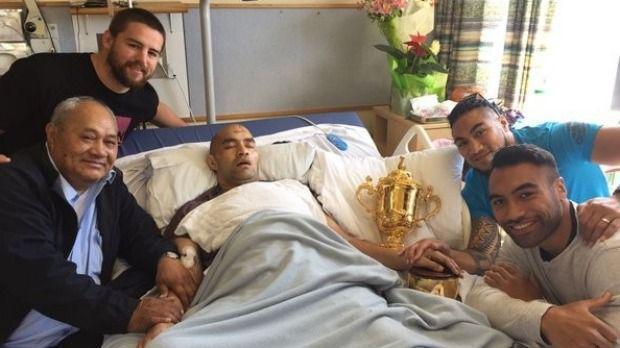 Gravement malade, un rugbyman s'éteint après avoir reçu la visite des All Blacks