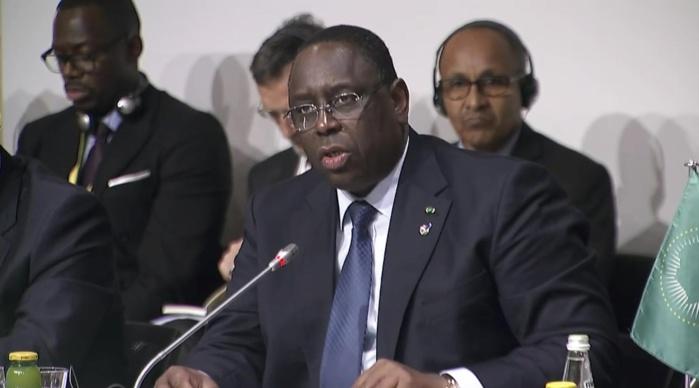 Sommet sur la Migration : Macky Sall rejette la stigmatisation, la politique des barricades et du repli sur soi