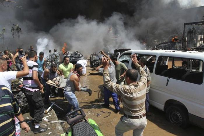 LIBAN : 37 morts dans un double attentat