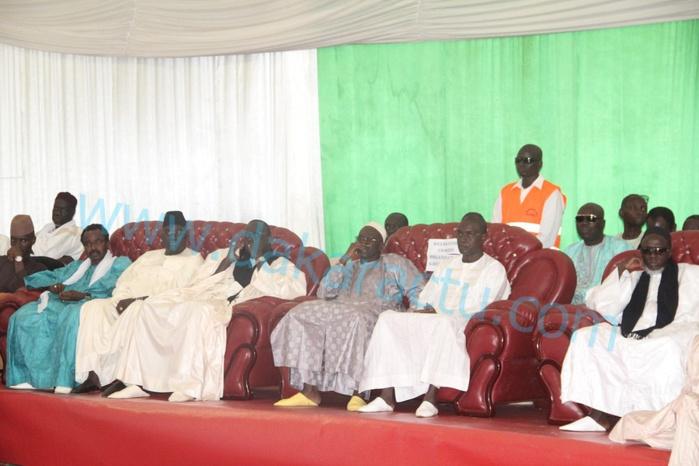 """Semaine Cheikh Ahmadou Bamba : Les images de la grande conférence de Guédiawaye sur le thème """"le rôle du maitre coranique dans la société"""""""