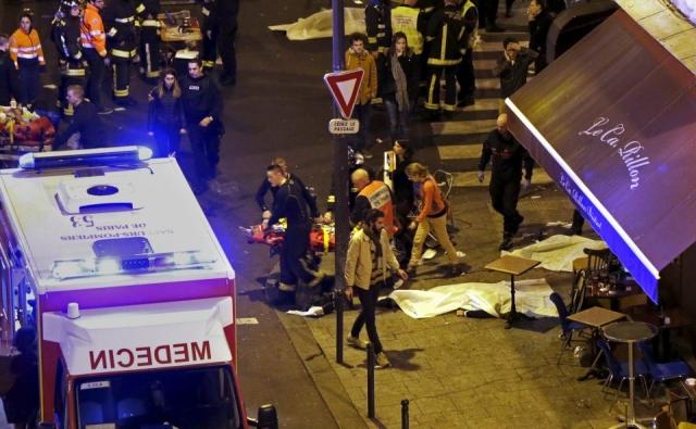 Nouveau bilan des attentats : 129 morts et 352 blessés