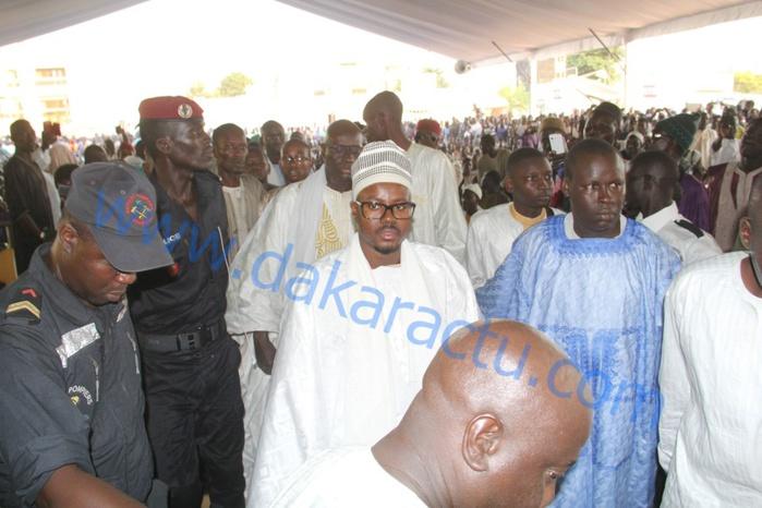 Semaine Cheikh Ahmadou Bamba : Serigne Bass Abdoukhadre Mbacké à la cérémonie de clôture à Massalikoul Djinane