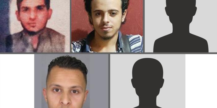 Ce que l'on sait des 7 terroristes et du suspect en fuite, derrière les attentats du 13 novembre à Paris