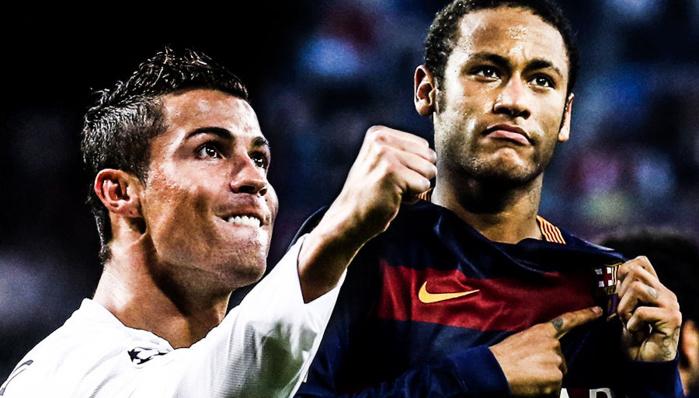 Ronaldo se méfie de Neymar pour le Soulier d'or