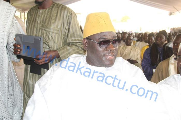 Semaine Cheikh Ahmadou Bamba : Serigne Bass Khadim Awa Ba Mbacké à la cérémonie de clôture à Massalikoul Djinane