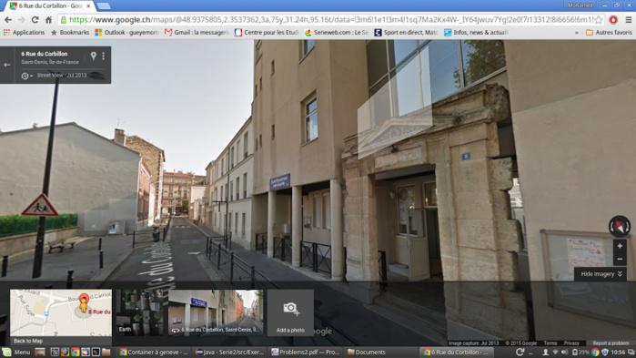 6, Rue Corbillon : La maison présumée servir de QG aux auteurs des attentats de Paris (IMAGES)