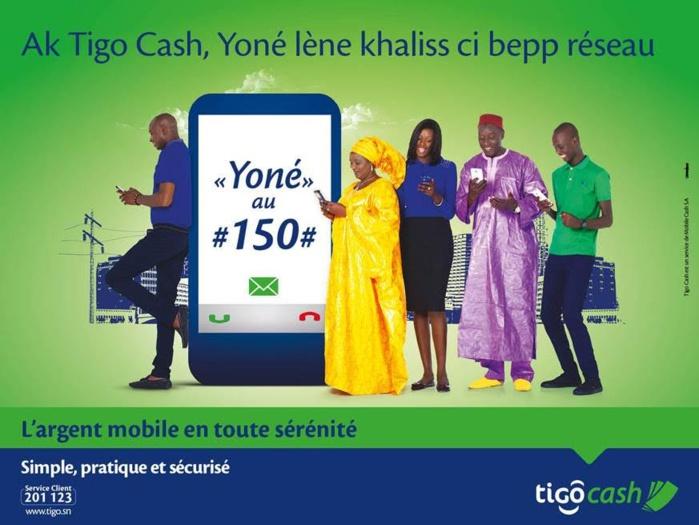 Transfert d'argent : Tigo Cash lance « Yoné »