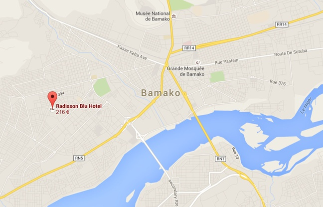 MALI : Fusillade en cours à l'hôtel Radisson de Bamako