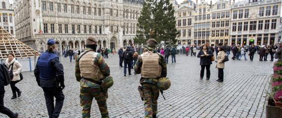 Le métro de Bruxelles fermé, la ville placée en alerte terroriste maximum