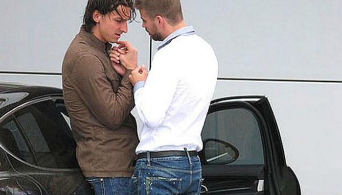 """Cinq ans après, Piqué revient sur sa photo """"romantique"""" avec Ibra"""