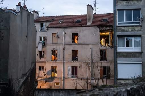 L'immeuble de la rue du Corbillon, vue de sa cour intérieure. © epa.
