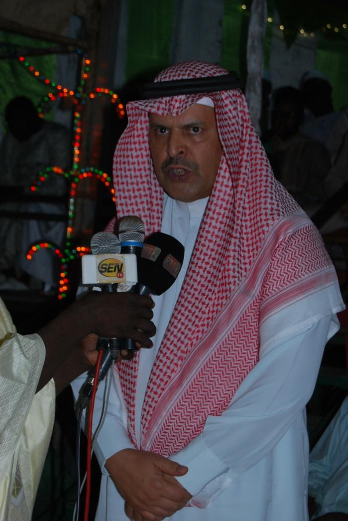 """L'Ambassadeur d'Arabie Saoudite au Gamou de M'bour : """"Nous serons toujours aux côtés du Sénégal pour un islam de paix et de tolérance"""""""