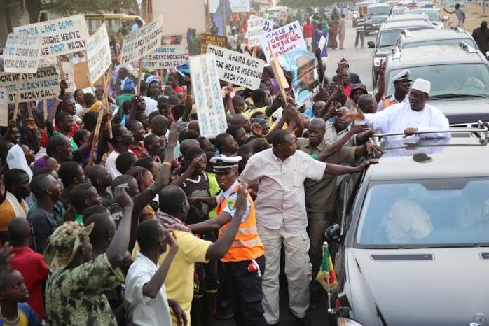 TOUBA - RIEN QUE POUR LE NDIGUËL : « Le Pds sera à l'accueil du Président Macky Sall sans crier ni applaudir »