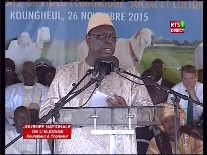 Journée de l'élevage : Discours du président Macky Sall