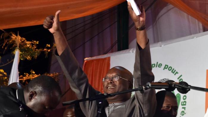 Kaboré élu président du Burkina Faso dès le premier tour