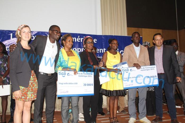 Prix de l'innovation numérique : Un projet de don de sang et un autre d'accès à l'économie humaine primés (IMAGES)