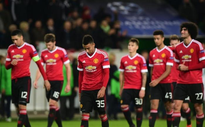 Manchester United est éliminé de la Ligue des champions