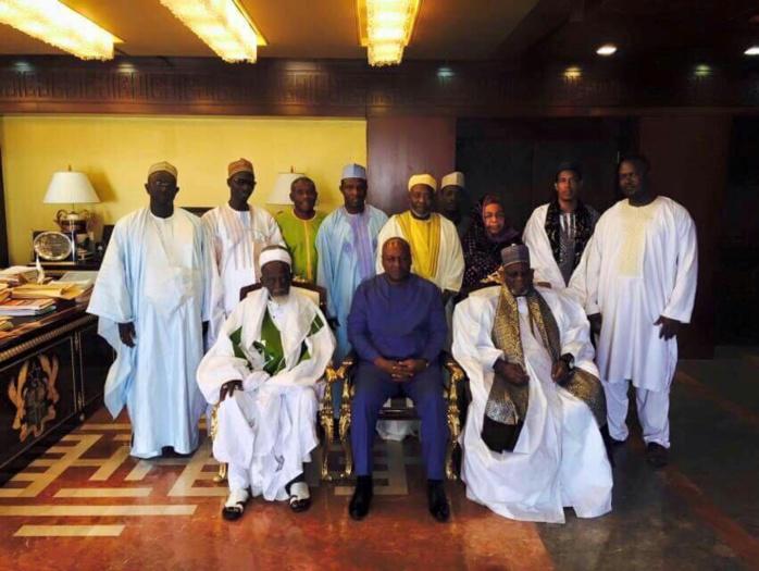 GHANA : Le Khalife de Médina Baye et le President Ghanéen évoquent les questions de sécurité