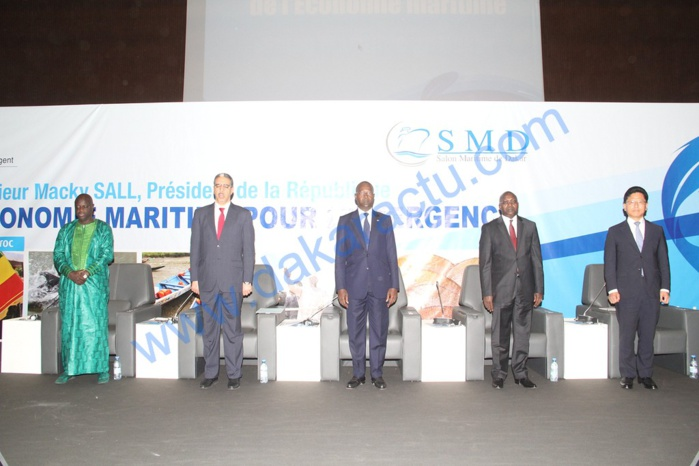 Les images de la deuxième édition du Salon maritime de Dakar au Centre international de conférence Abdou Diouf de Diamniadio ( CICAD)