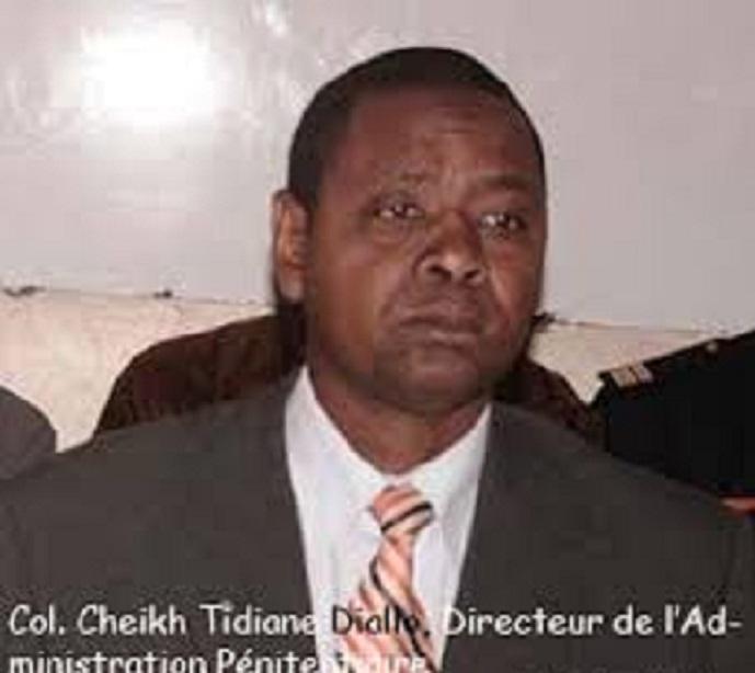 Direction de l'administration pénitentiaire : Le départ de C.T. Diallo serait-il lié au non transfèrement de Karim Wade ?