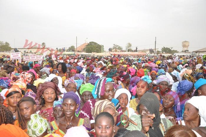 Malgré les velléités de sabotage, les femmes de Kaolack déroulent le tapis rouge à Moustapha Diop
