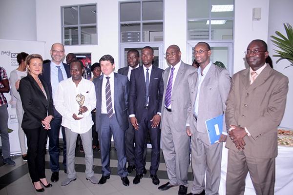 Nouveau membre du Cio : Canal+ Sénégal offre un «bouquet» à Diagna Ndiaye