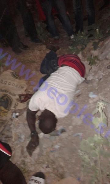MEURTRE AUX MAMELLES : Pape Diop alias Diaz a été tué par son ami Gueth N'dour pour 250 F Cfa