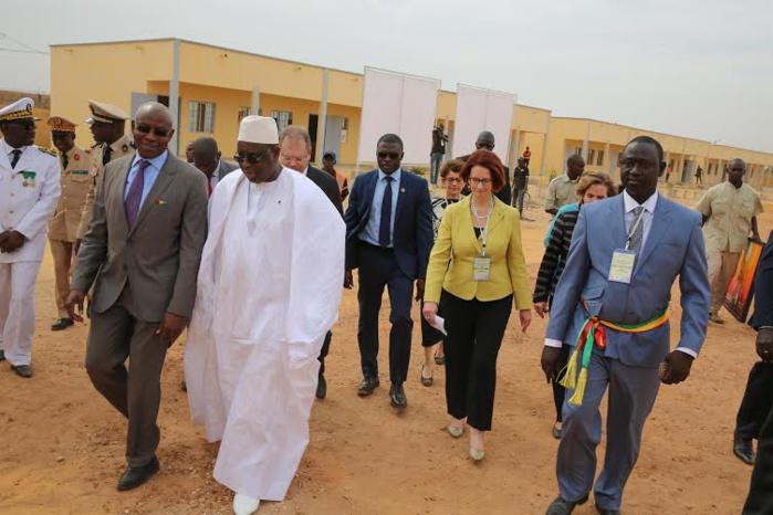 Les images de l'inauguration des infrastructures du projet d'amélioration de la qualité et de l'équité de l 'Education ( PAQEEB)