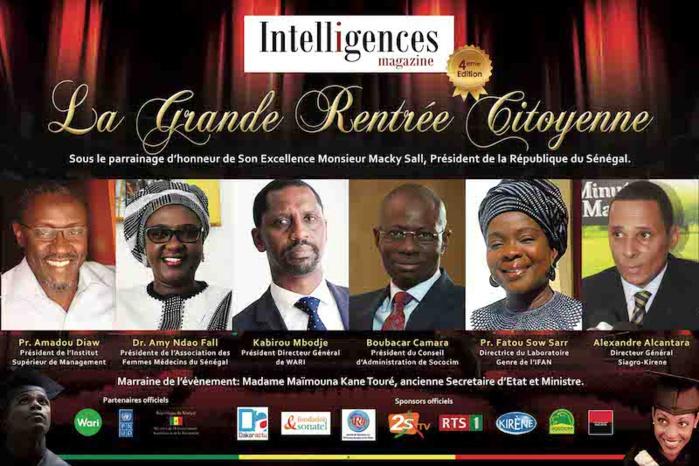 GRANDE RENTRÉE CITOYENNE : D'éminentes personnalités encore retenues comme mentors