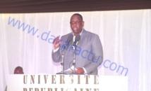 UNIVERSITÉ RÉPUBLICAINE : Les vérités du président Macky Sall à sa jeunesse