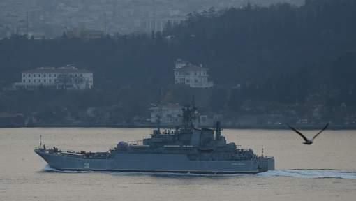 """Incident"" en mer Egée entre Russie et Turquie"