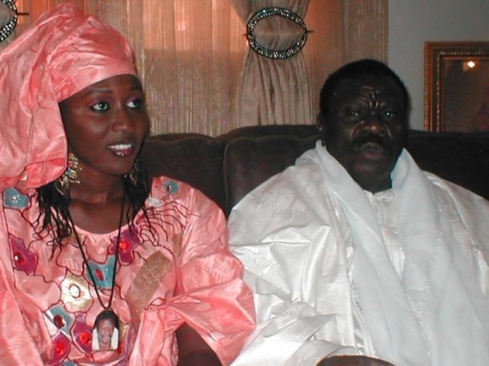 """EXCLUSIF : Cheikh Béthio Thioune élève sa femme Déthié Pène au grade de """"Cheikh"""""""
