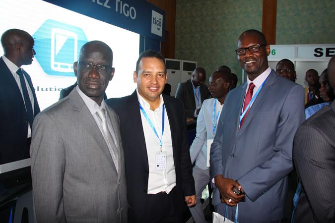 Tigo aux Assises de l'entreprise (édition 2015), et au Salon International des Professionnels de l'Economie Numérique