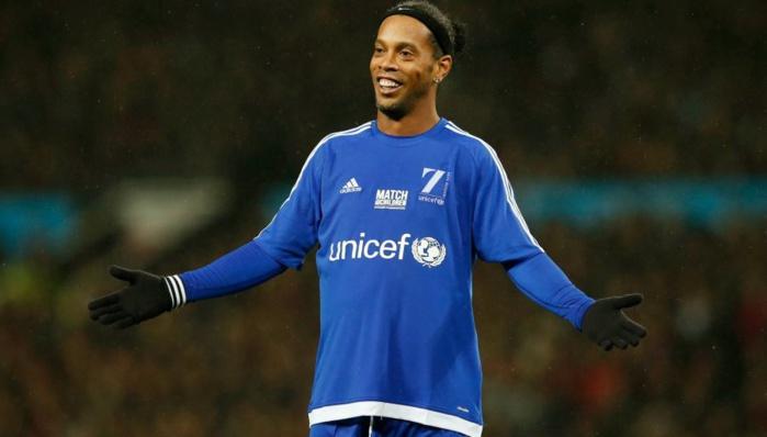 Ronaldinho suspendu par la Fifa ?