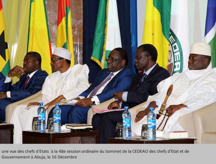 LE 48ème SOMMET DE LA CEDEAO ATTRIBUE LA PRÉSIDENCE ET LA VICE-PRÉSIDENCE DE LA COMMISSION AU BÉNIN ET A LA GAMBIE