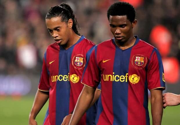 Antalyaspor : Eto'o veut s'offrir Ronaldinho