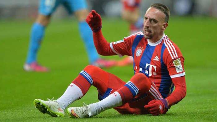 Bayern de Munich : Encore un coup dur pour Ribéry