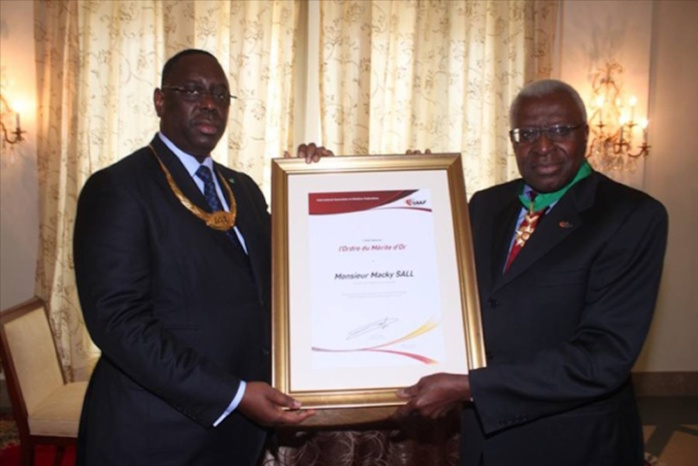 CORRUPTION IAAF : Lamine Diack mouille le président Macky Sall