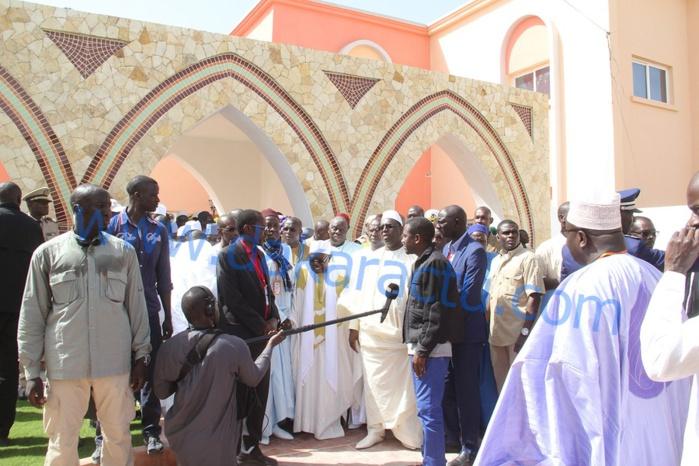 Gamou Tivaoune 2015 : Les images de la visite du président Macky Sall à Tivaouane
