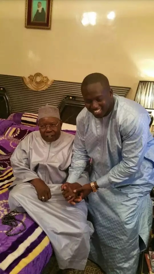 Aziz N'diaye remercié par Al Amine devant le président
