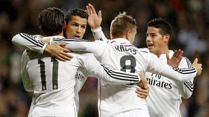 10-2 : énorme carton du Real contre le Rayo Vallecano (quadruplé de Bale, triplé de Benzema)