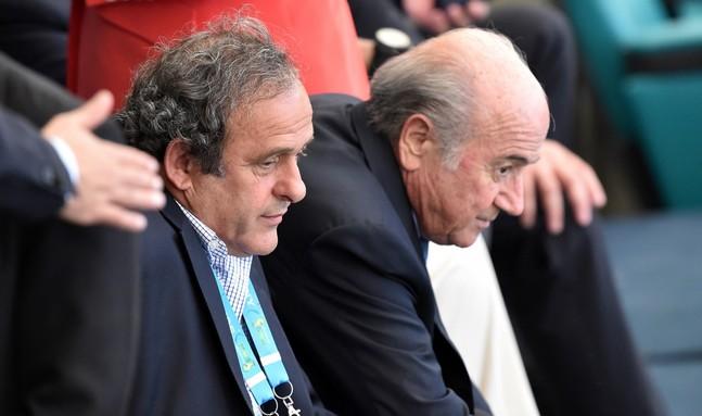 FIFA : Michel Platini et Sepp Blatter suspendus huit ans
