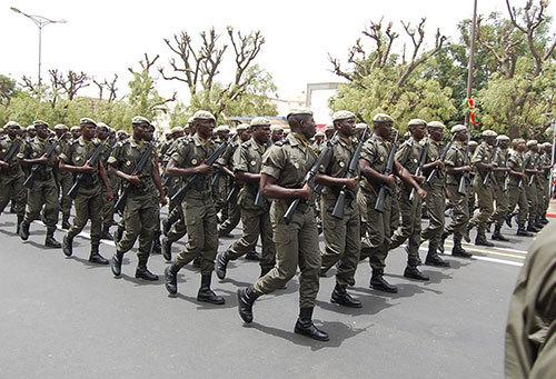 GAMOU 2015 : Les armées sénégalaises au service des populations