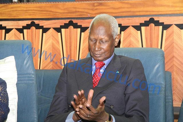 Le Président Abdou Diouf en deuil depuis dimanche
