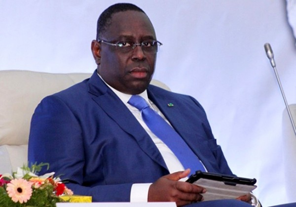 Macky Sall à l'investiture de Roch Marc Christian Kaboré